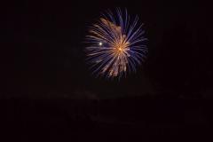 Großfeuerwerk - das Highlight an jedem Abend!