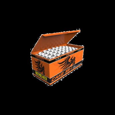 Heron Cake 35-1 35 Schuss Profi Fächerbatterie