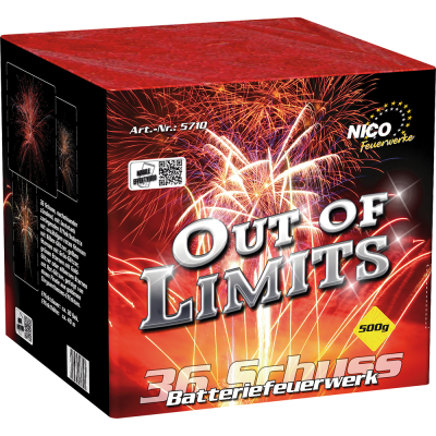 Out of Limits 36 Schuss Batterie