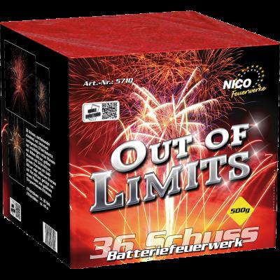 Out of Limits 36 Schuss Batterie
