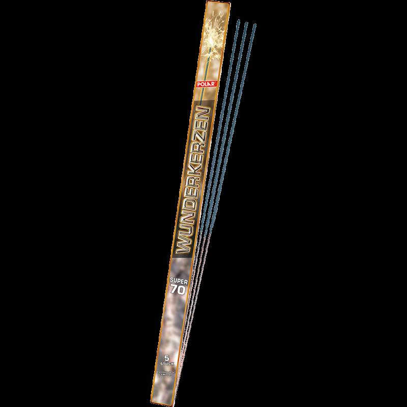 Riesen Polar Wunderkerzen 70cm