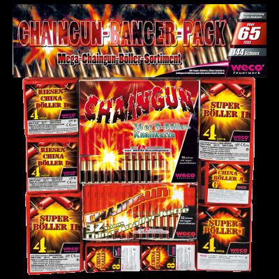 Weco - Chaingun-Banger-Pack mit 144 Schuss