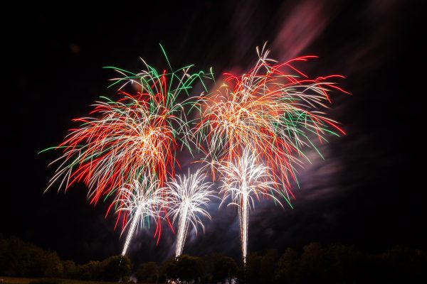 Große Produktpräsentation Silvesterfeuerwerk 2020<br>der Firma JK-Pyrotechnik