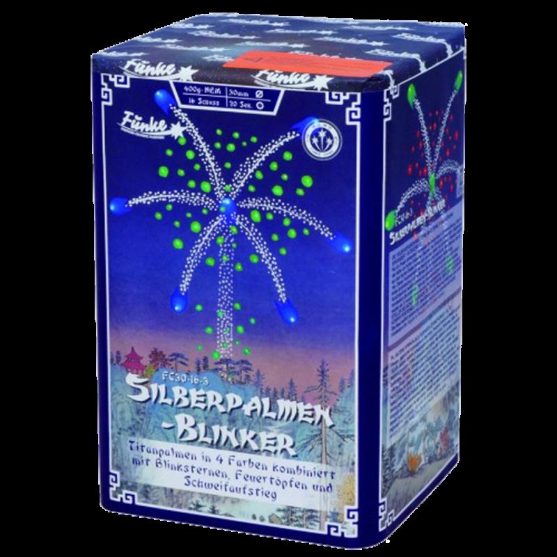 Funke -Silberpalmen Blinker