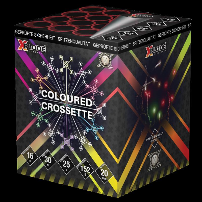 Xplode - Coloured Crosette