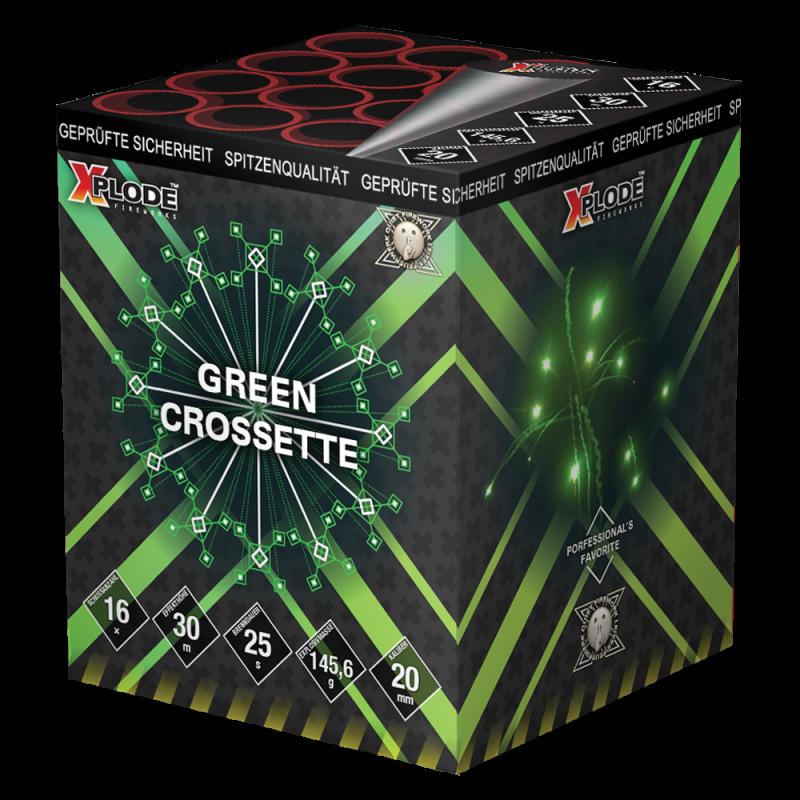 Xplode - Green Crossette