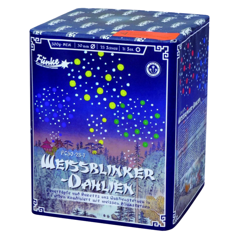 Funke - Weissblinker Dahlien